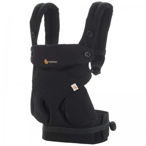 Ergobaby Carrier Four Position 360 - Pure Black
